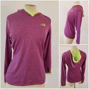 The North Face Flash Dry Hoodie Sz XS Thumholes